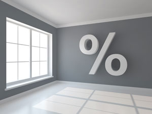 Interest rate % - photo
