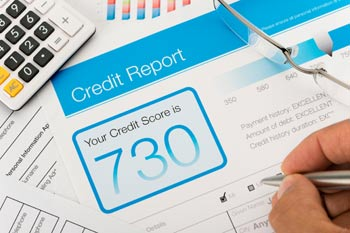 A credit report - photo