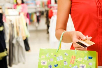 Shopping with credit cards