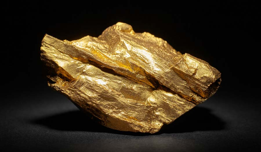 A block of gold