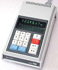 Calculators history