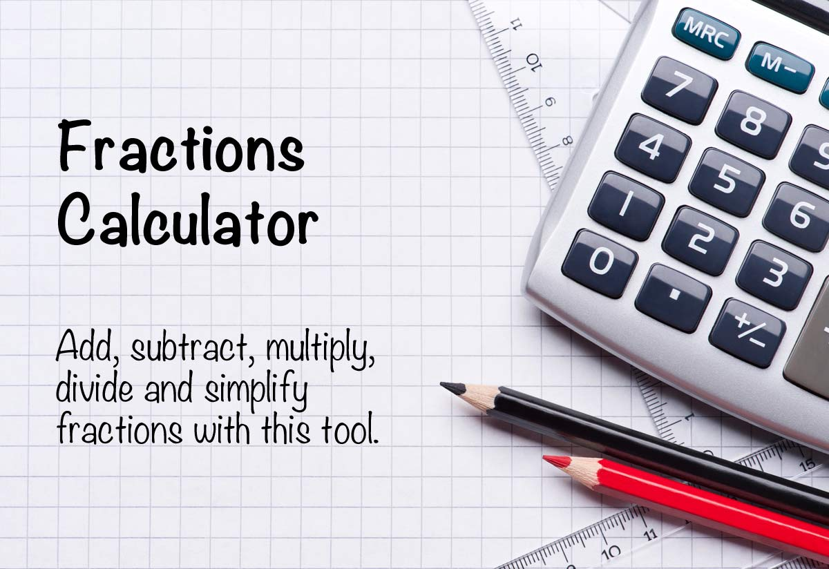 Fractions calculator the calculator site falaconquin
