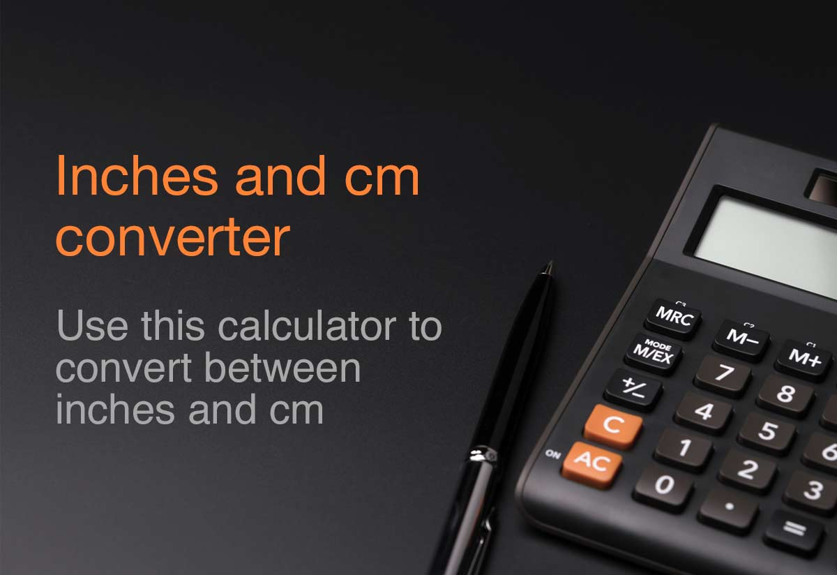 Convert Inches to cm - The Calculator Site