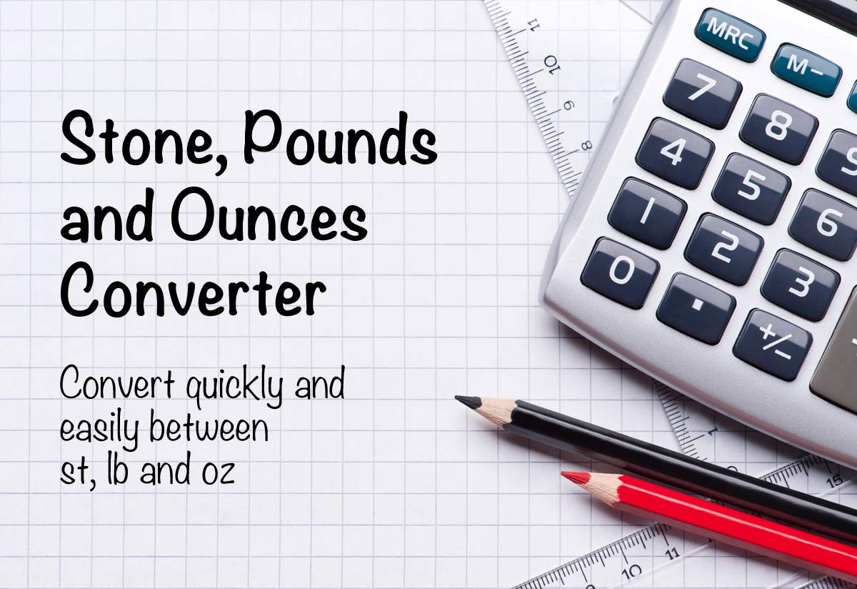 Convert stones (st) pounds (lb) kilograms (kg) calculator.