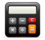 small calculator icon
