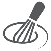 cooking whisk icon