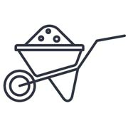 icon of a wheel barrow