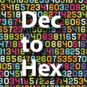 decimal to hex icon