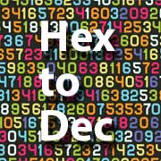 hex to decimal icon