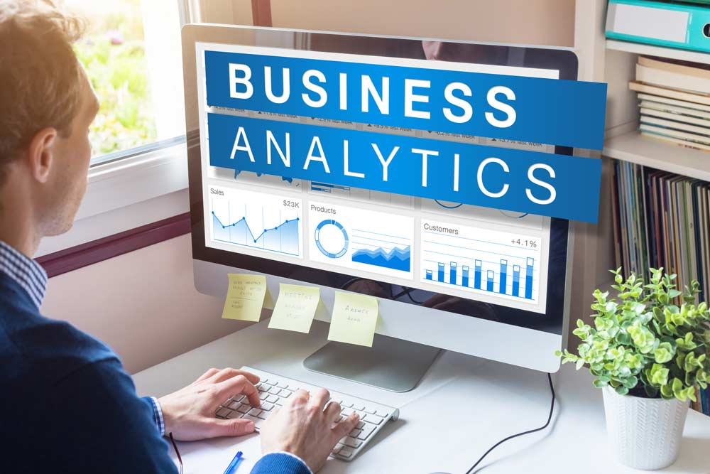Calculating margins as business analytics