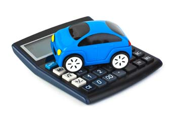 Car payment estimator calculator with tax